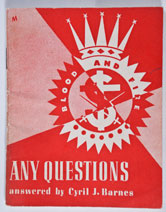 Any Questions (Cyril Barnes)