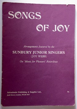 Songs of Joy (1970) - Sunbury Singers