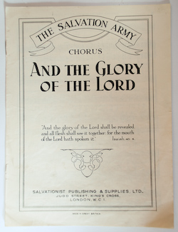 And the Glory of the Lord - Chorus