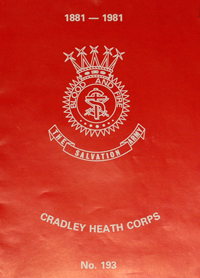 Cradley Heath Corps Centenery Brochure
