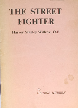 The Street Fighter (Harvey Willcox)
