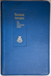 Notable Officers of the Salvation Army (hardback)