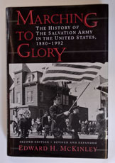 Marching to Glory - history of SA in USA 1880 - 1992 (hardback)