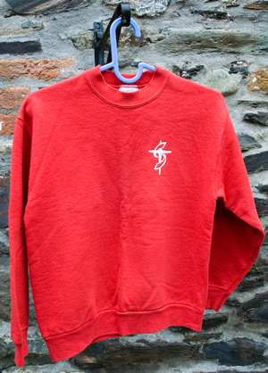 Young People's Red Sweat shirt